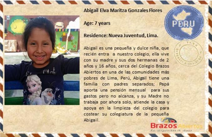 ES Abigail Elva Maritza Gonzales Flores