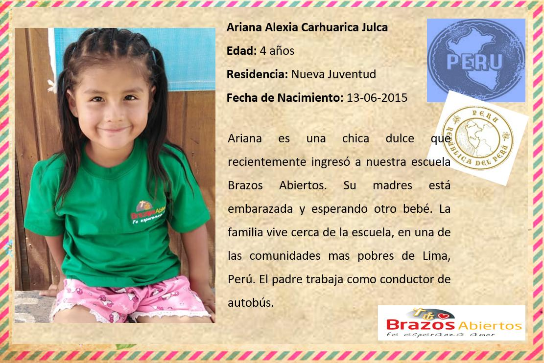 ES Ariana Alexia Carhuarica Julca