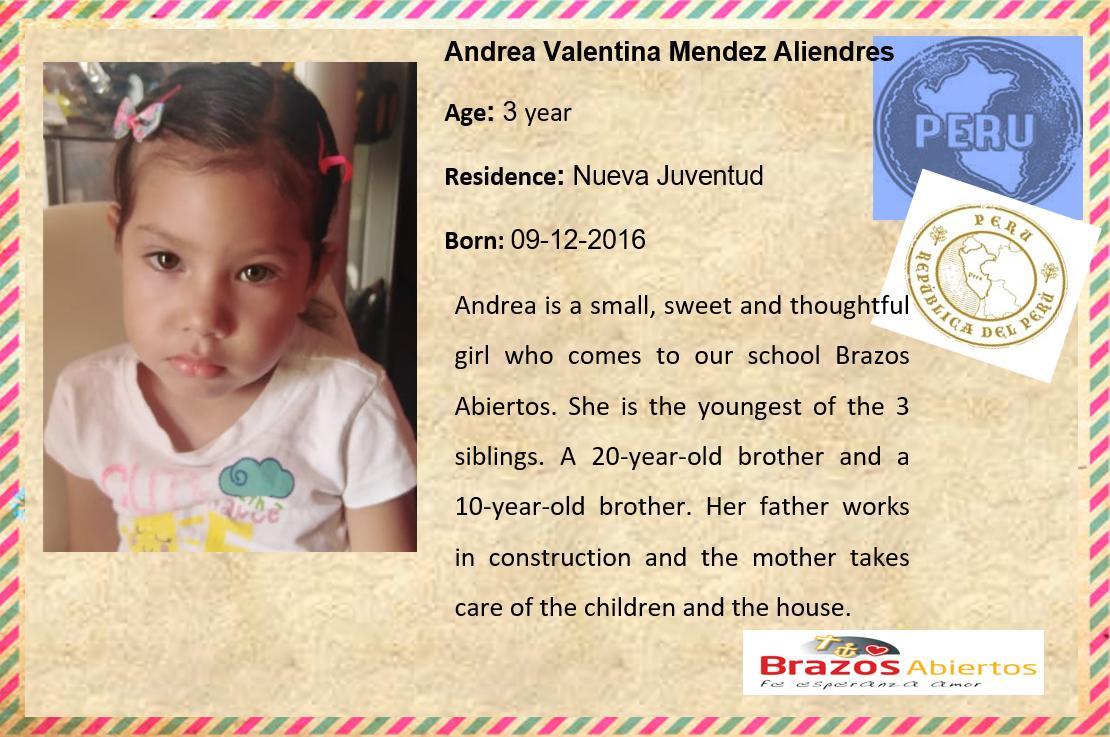 GB Andrea Valentina Mendez Aliendres