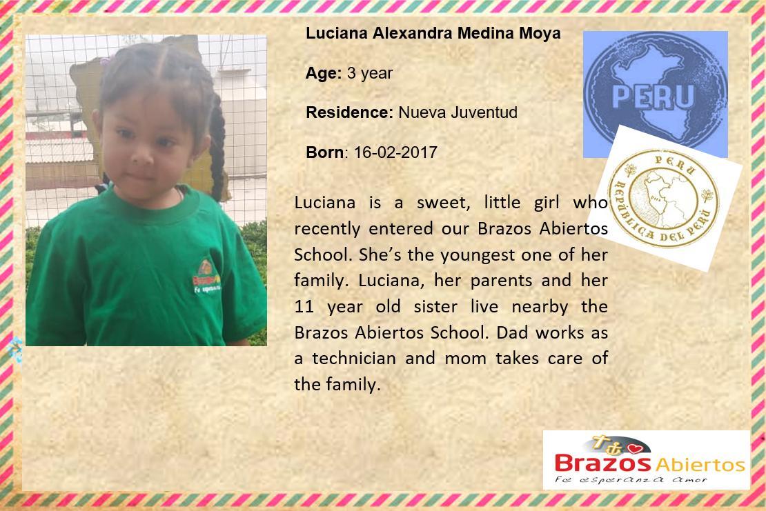 GB Luciana Alexandra Medina Moya