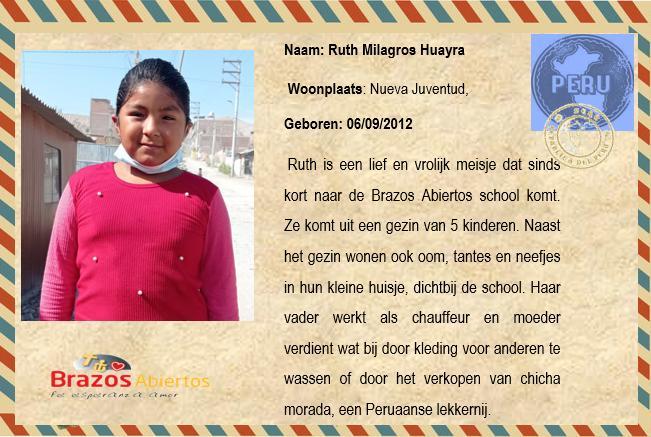 NL Ruth Milagros Huayra